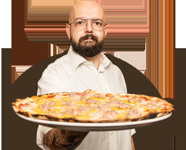 La pizza di Egizio
